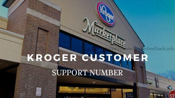 kroger customer support