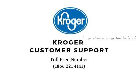 kroger customer toll free number