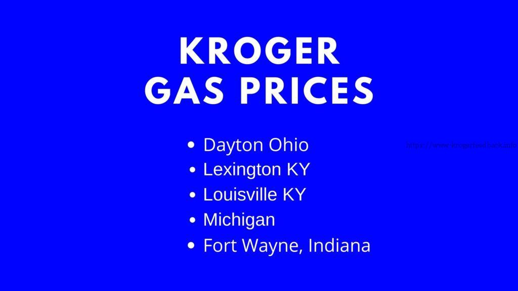 kroger gas prices